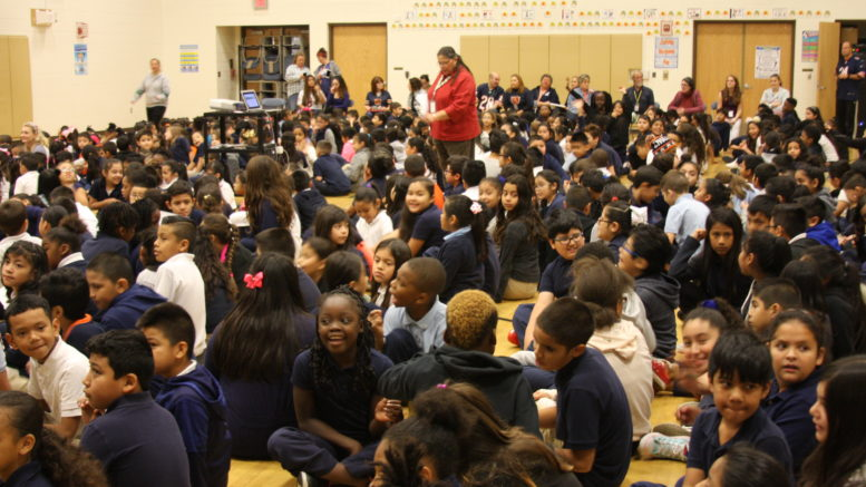 "Whittier was selected for reaching FUTP60 ""touchdown status"" last year. /Photo: O. Zepeda"