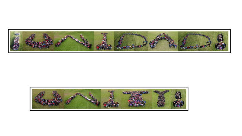 Zion Elementary School District 6 celebrated Unity Day and Anti-Bullying Month. /Photo: Courtesy ZSD6