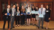 Students and advisors of the Mundelein High School chapter of FBLA. /Photo: Courtesy MHS