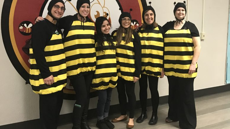 Lakeview staff colonized to form the Lakeview Bees. /Photo: ZSD6