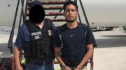Francisco Javier Díaz Lúa es entregado a las autoridades mexicanas para enfrentar los cargos de violación y robo en Michoacán./Foto: ICE
