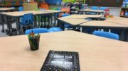 Ms. Gonzalez's new classroom furniture was provided by Lakeshore Learning. /Photo: Courtesy ZSD6