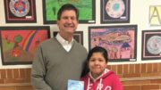 Congressman Schneider and Natalee Lizardo. /Photo: Courtesy WPS60