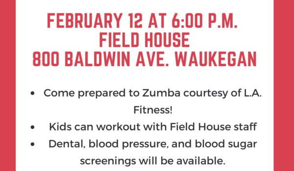 District Health Fair February 12. /Photo: Courtesy Waukegan Public Schools